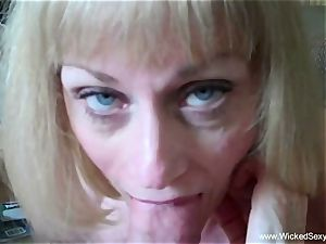 cuckold granny Is Addicted To spunk