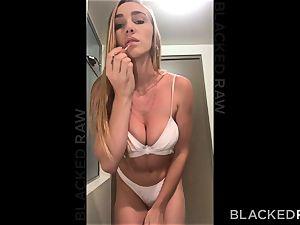 BLACKEDRAW hotwife girlfriend luvs her muscled immense ebony paramour