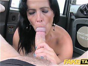 fake cab lil' bit of ass licking and ass-fuck fucky-fucky