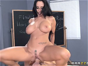 huge-chested schoolteacher Ava Addams is nailed by her student
