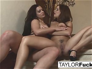 Taylor Vixen and her pal Aria Giovanni