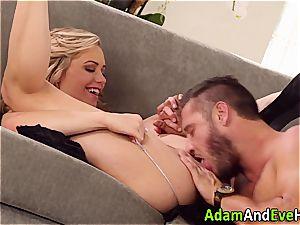 gorgeous couple Mia Malkova and Danny Mountain penetrating