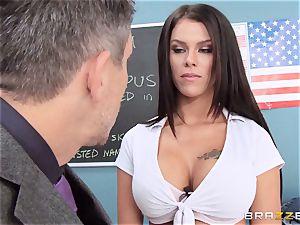 filthy schoolgirl Peta Jensen plows the lucky dean